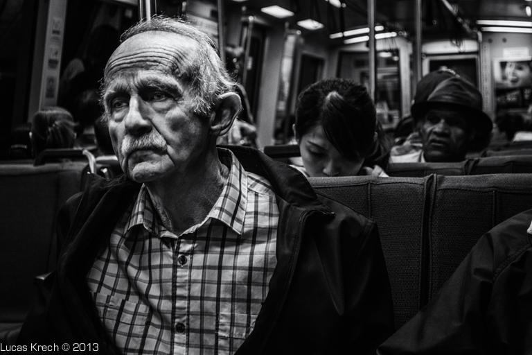 Man On The Subway